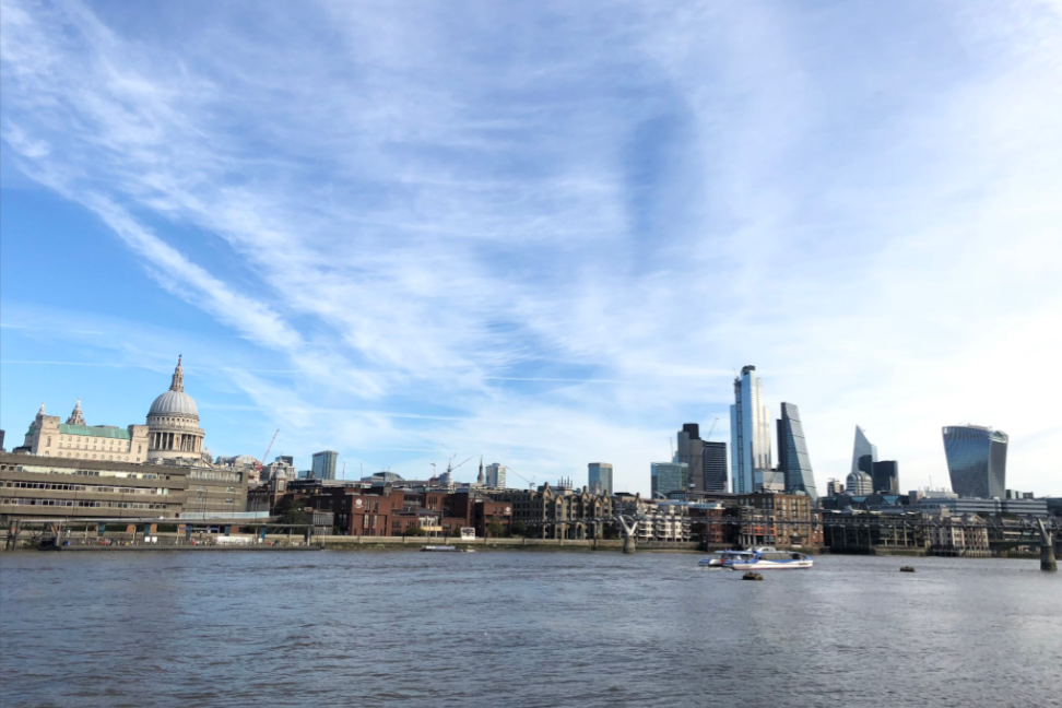 'Looking gorgeous this morning London' @marcelkl