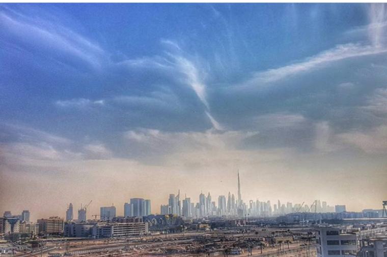 Dubai skylines @katie_dbx_