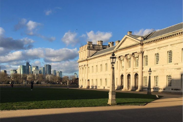 This month our COO, @charliehampton100 visited @uniofgreenwich and gave a guest lecture to their PR and Comms students. 🎓 Check out the beautiful shot of the campus he took on the day, February you're looking glorious! 🤩☀️