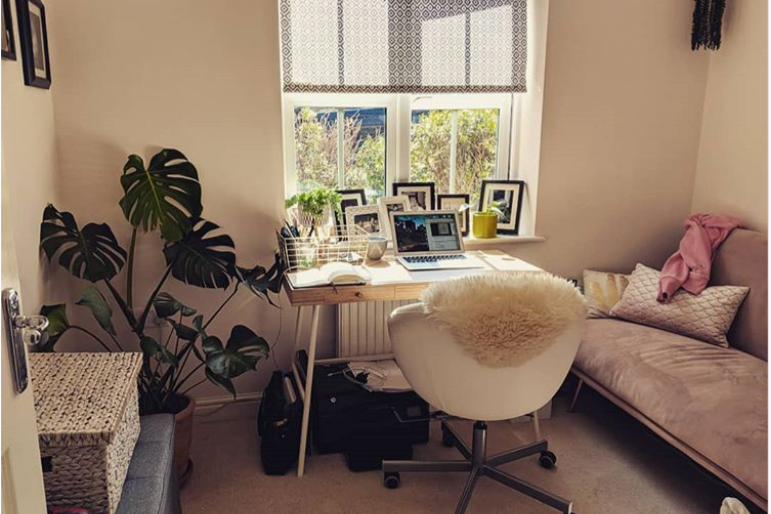 Any tips on how to make my office more butch?? @drewbenvie on Instagram