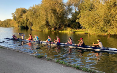 Oxford rowing boat