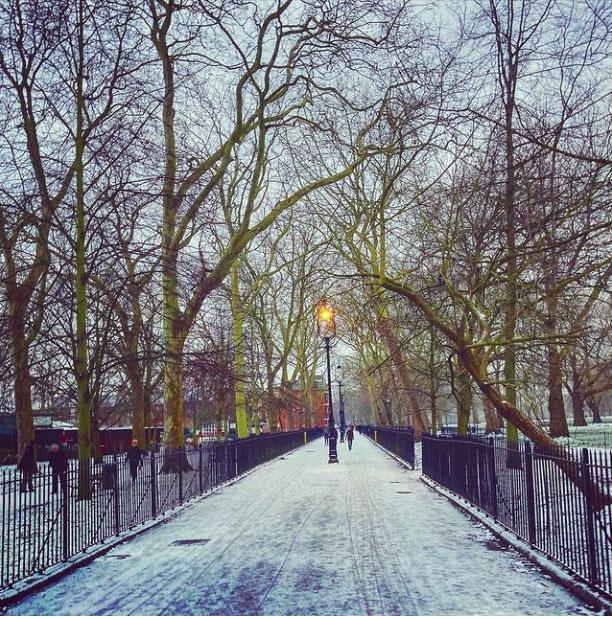 Highbury Fields 7:15am @onecarlie on Instagram