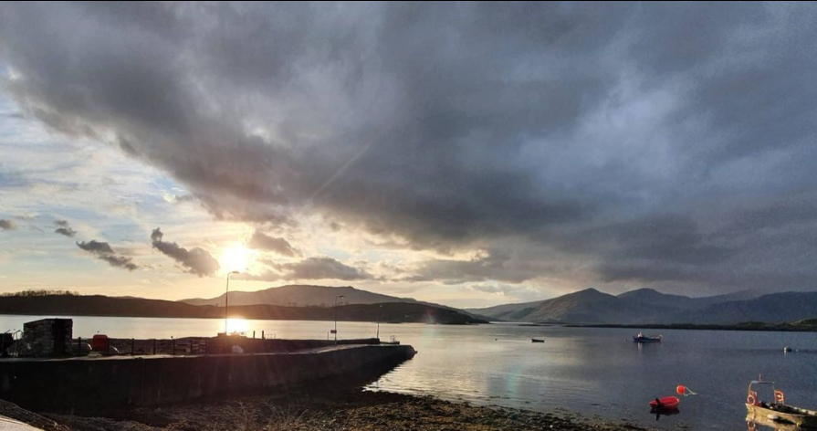 View from the fab Pierhouse seafood restaurant at Port Appin. #highlandsofscotland #highlands #lochs #seafood @kevoruck on Instagram