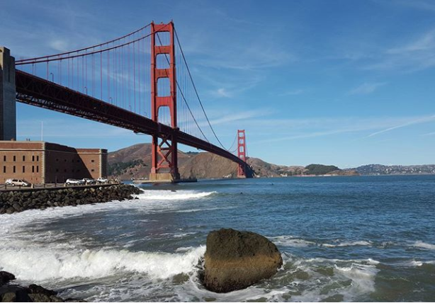 Golden Gate Bridge @iliyanastareva on Instagram