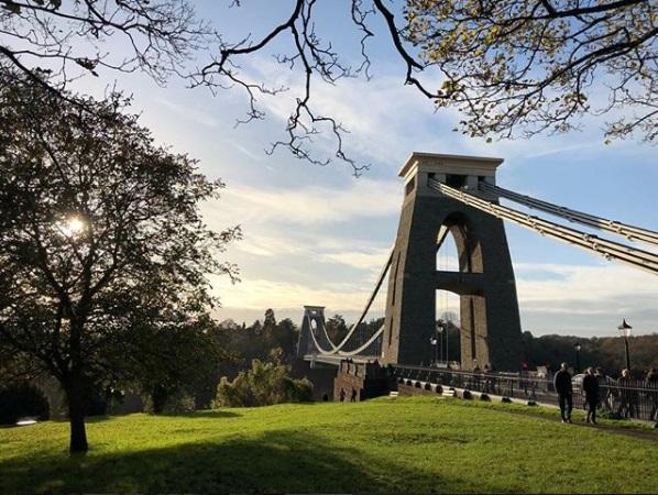 Clifton Suspension Bridge @liambettinson_ on Instagram