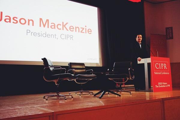CIPR president Jason MacKenzie (photo Marcel Klebba)