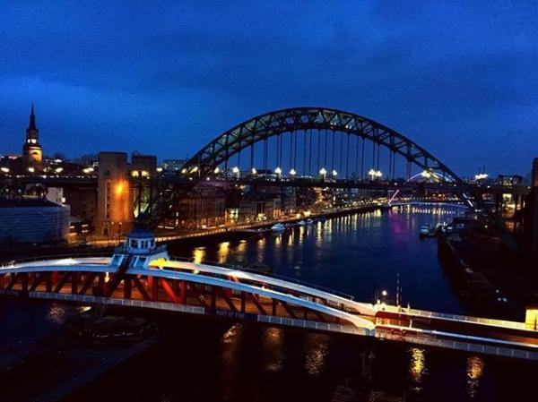 Fav view #Newcastle (Stephen Waddington @wadds on Instagram)