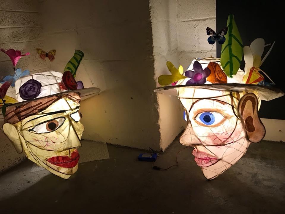 Suffragette lanterns (@BristolUni)