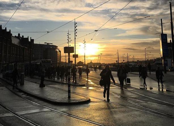 Walking into the weekend, Madalina Buzdugan (@madabuzz on Instagram)