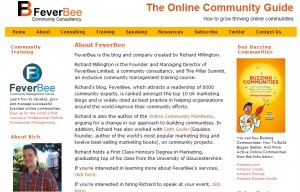 Rich Millington is the founder of Feverbee.com and the author of Buzzing Communities