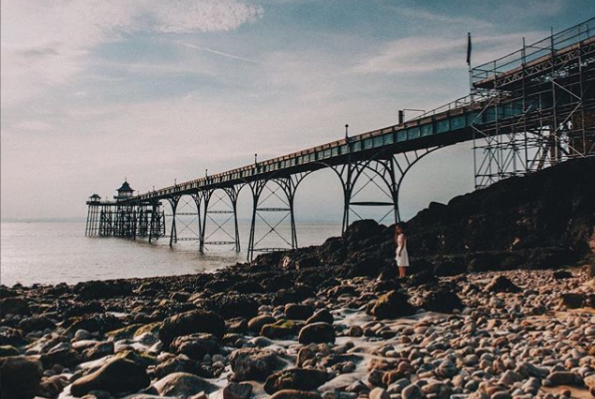 Clevedon pier (@oysays on Instagram)