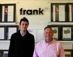 Alexi Gunner with Graham Goodkind at Frank PR
