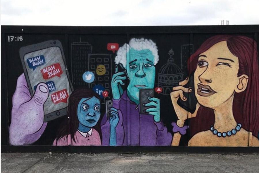 Graffiti in Bristol @carnsightcomms