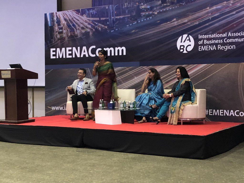 EMENAComm 2019 panel @acropley