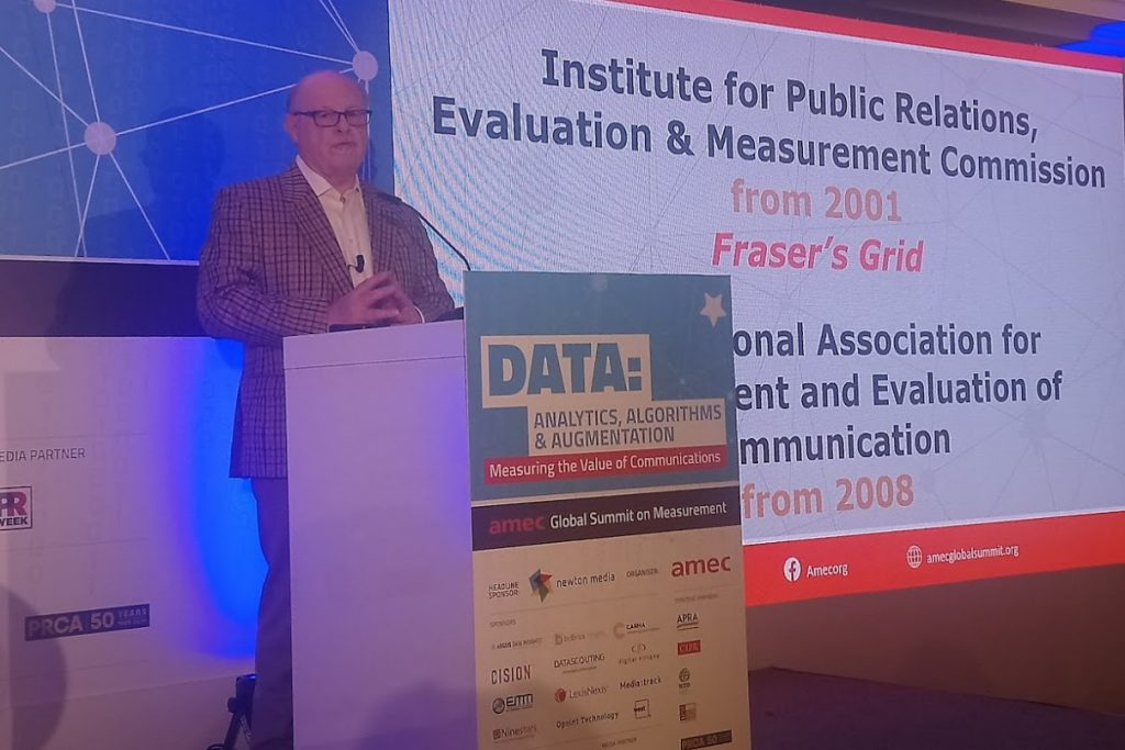 Fraser Likely presenting at the AMEC Summit
