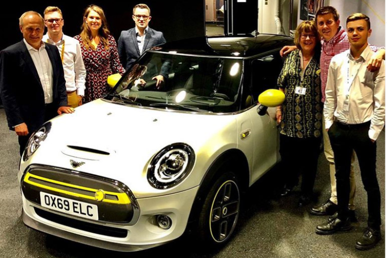 I couldn't be prouder to work for @miniuk today, launching the new MINI Electric to the world's media. @helenwilsonxx